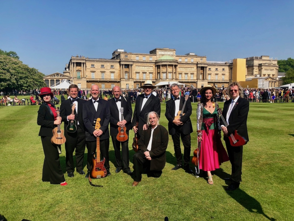 Richard and the Ukulele Orchestra of Great Britain