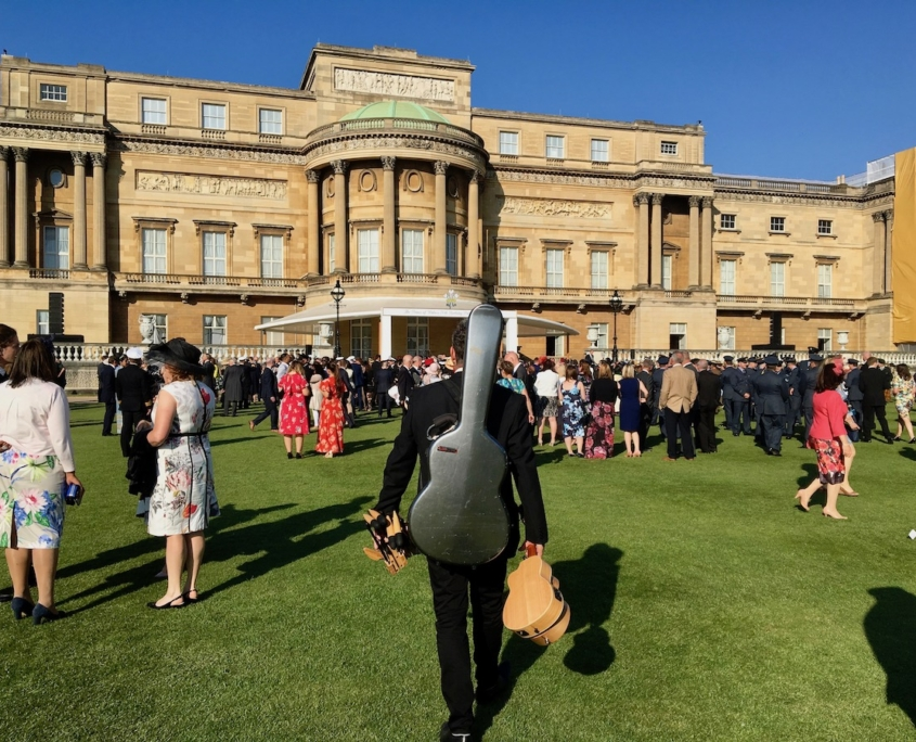 Richard at Buckingham Palace