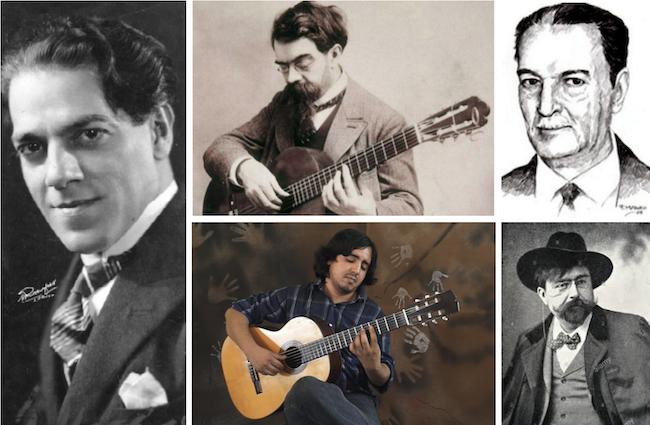 Vila-Lobos, Tarrega, Lauro, Albeniz and Jean Duarte