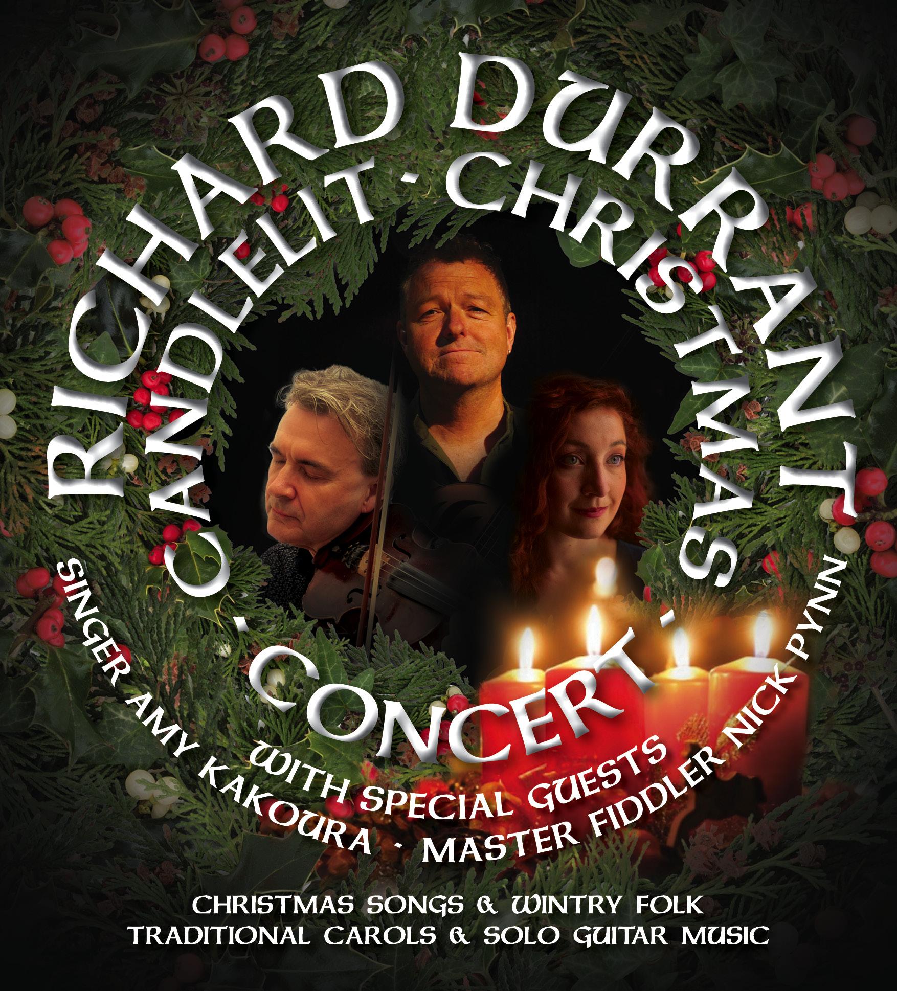 2019 Christmas Music.Candlelit Christmas Concerts 2019 Richard Durrant