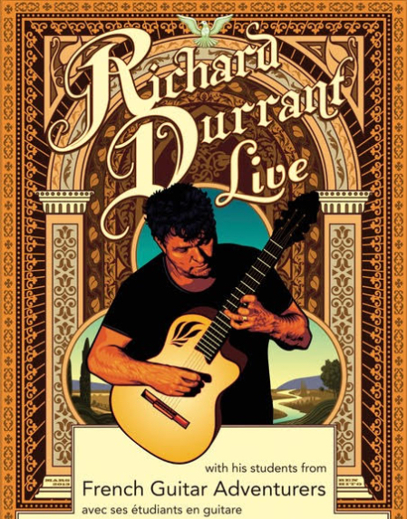 French Guitar Adventurers concert poster